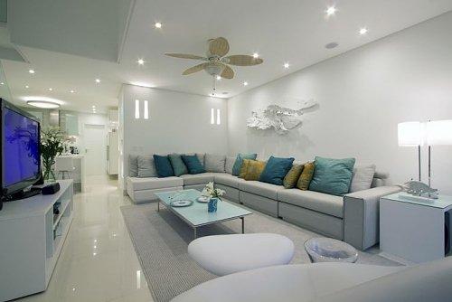 Para cada formato de sala um tipo de decoração; veja dicas para não errar