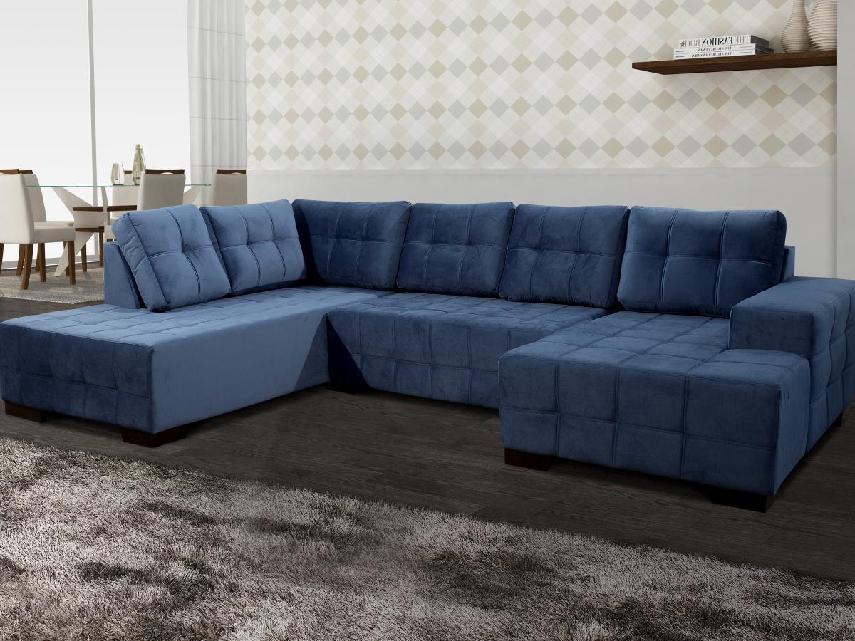 Como escolher um sofá com chaise para sala de estar